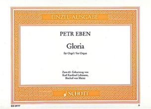 Petr Eben - Gloria - Partition - di-arezzo.fr