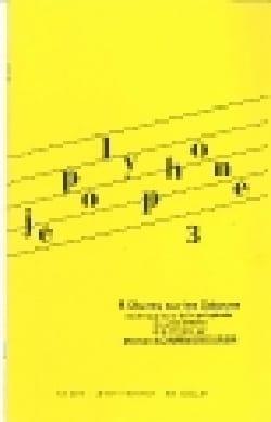 Je Polyphone 3 - Michel Schwingrouber - Partition - laflutedepan.com