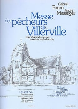 FAURE - MESSAGER - Villerville Fishermen's Mass - Sheet Music - di-arezzo.co.uk