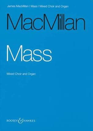 Mass - James Macmillan - Partition - Chœur - laflutedepan.com