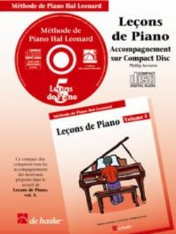 Leçons de Piano Volume 5. CD laflutedepan