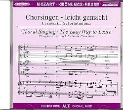 MOZART - Krönungs-Mass. KV 317 Alto CD - Sheet Music - di-arezzo.com