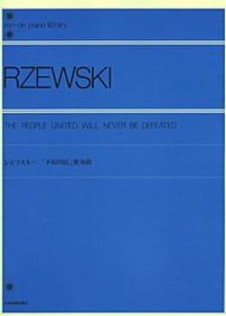 Frederic Rzewski - 四角形/北アメリカのバラード - 楽譜 - di-arezzo.jp