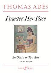 Powder Her Face Op. 14 - Thomas Adès - Partition - laflutedepan.com