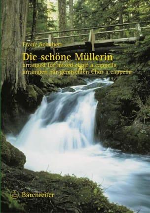 SCHUBERT - Die Schöne Müllerin. Choir - Sheet Music - di-arezzo.co.uk