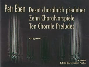 Petr Eben - 10 Preludes of Chorales - Sheet Music - di-arezzo.co.uk