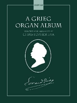 Organ Album GRIEG Partition Orgue - laflutedepan