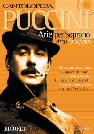 Giacomo Puccini - Arie For Soprano - Partition - di-arezzo.co.uk