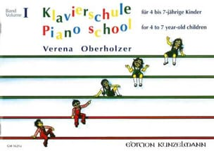 Oberholzer - Klavierschule Vol 1 - Partitura - di-arezzo.it