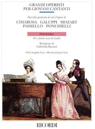 - Grandi Operisti Per Giovani Cantanti. Low - Sheet Music - di-arezzo.com