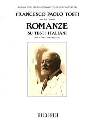 Francesco Paolo Tosti - Romanze Di Ambiente Napoletano - Sheet Music - di-arezzo.co.uk