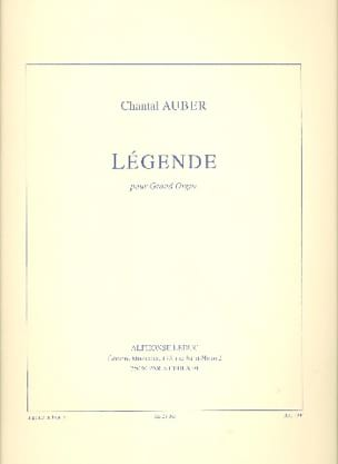 Légende - Auber - Partition - Orgue - laflutedepan.com