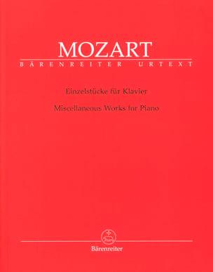 MOZART - EinzelstückeFürKlavier - 楽譜 - di-arezzo.jp