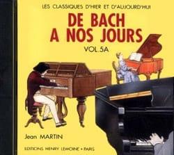 de Bach à nos Jours - Volume 5A - CD - laflutedepan.com