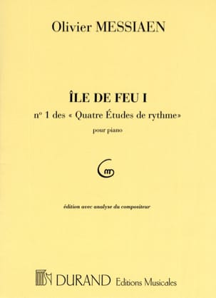Ile de Feu 1 Olivier Messiaen Partition Piano - laflutedepan