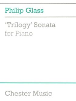 Philipp Glass - Trilogy Sonata - Sheet Music - di-arezzo.com