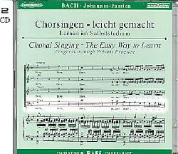 BACH - Passion Selon Saint-Jean BWV 245. CD Basse - Partition - di-arezzo.fr