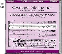Passion Selon Saint-Jean BWV 245. CD Alto. BACH laflutedepan