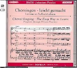Passion Selon Saint-Jean BWV 245. CD Soprano. BACH laflutedepan