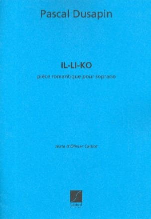 Pascal Dusapin - He-Li-Ko - Sheet Music - di-arezzo.co.uk