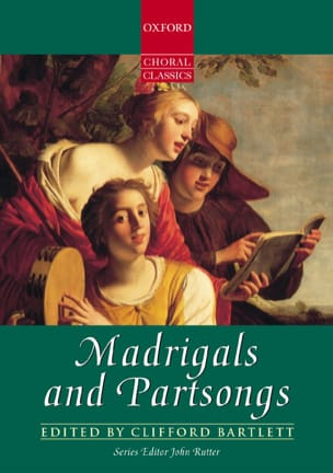 Madrigals And Partsongs - Partition - di-arezzo.fr
