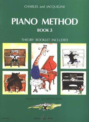 HERVÉ - POUILLARD - Piano Method Book 3 in English - Sheet Music - di-arezzo.co.uk