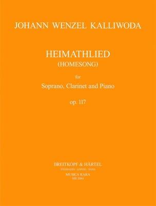 Johann Wenzel Kalliwoda - Heimathlied Opus 117 - Partition - di-arezzo.fr