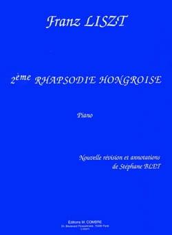 Franz Liszt - 2ème Rhapsodie Hongroise - Partition - di-arezzo.fr