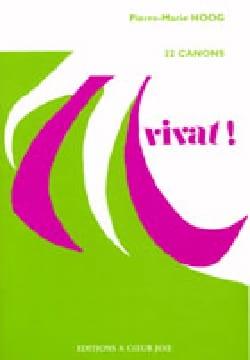 Pierre-Marie Hoog - Vivat ! - Partition - di-arezzo.fr