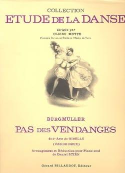 Pas des Vendanges. Giselle - Frédéric Burgmuller - laflutedepan.com