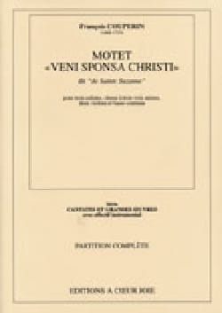 François Couperin - Veni Sponsa Christi. Conducteur - Partition - di-arezzo.fr