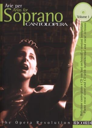- Arie Per Soprano Volume 1 - Partition - di-arezzo.fr
