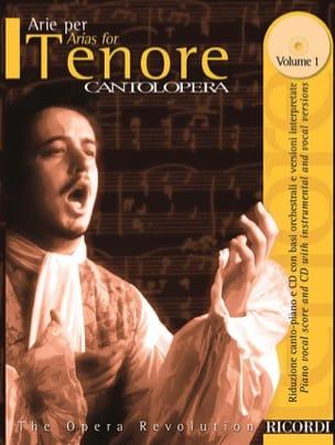 Arie Per Tenore Volume 1 Partition Opéras - laflutedepan
