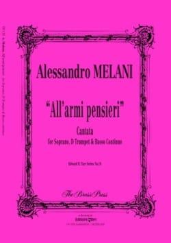 Alessandro Melani - All'armi, Pensieri - Partition - di-arezzo.fr