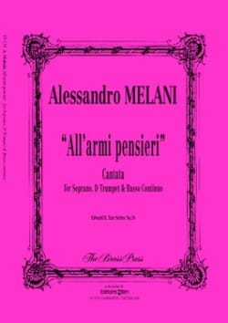 All'armi, Pensieri - Alessandro Melani - Partition - laflutedepan.com