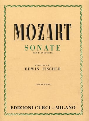 MOZART - Sonatas Volume 1 - Sheet Music - di-arezzo.co.uk