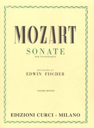 Sonates Volume 2 MOZART Partition Piano - laflutedepan