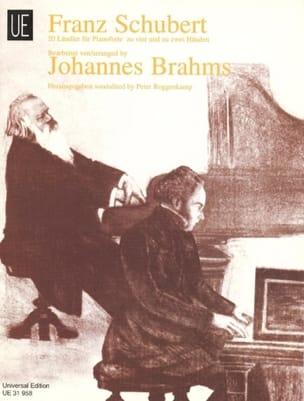 Schubert Franz / Brahms Johannes - 20 Ländler 2 et 4 Mains - Partition - di-arezzo.fr