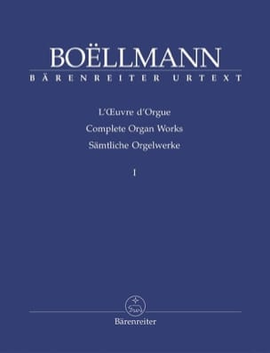 Léon Boëllmann - Organ Work Volume 1 - Sheet Music - di-arezzo.com