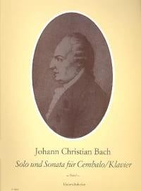 J.C. Bach - Solo Und Sonata - Partition - di-arezzo.fr