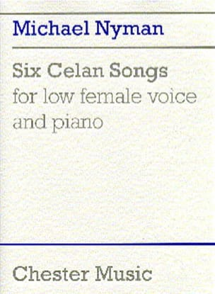 Nyman - 6 Celan Songs - Sheet Music - di-arezzo.co.uk