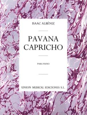 Isaac Albeniz - Pavana Capricho Opus 12 - Sheet Music - di-arezzo.co.uk