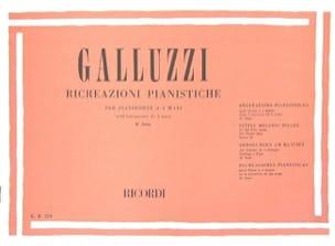Galluzzi - Ricreazioni Pianistiche Volume 2. 4 Mains - Partition - di-arezzo.fr