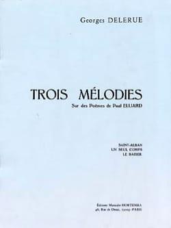 3 Mélodies sur des Poèmes d' Eluard - laflutedepan.com