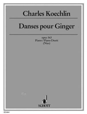 Danses Pour Ginger Op. 163 - Charles Koechlin - laflutedepan.com