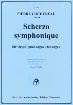 Pierre Cochereau - Symphonic Scherzo - Sheet Music - di-arezzo.co.uk
