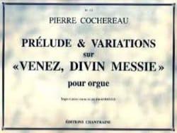 Prélude et Variations sur Venez Divin Messie - laflutedepan.com