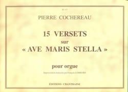 Pierre Cochereau - 15 Verses on Ave Maris Stella - Partition - di-arezzo.co.uk