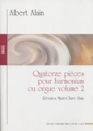 14 Pièces Volume 2 Albert Alain Partition Orgue - laflutedepan