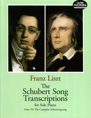 Franz Liszt - The Schubert Songs Transcriptions Serie 3 - Partition - di-arezzo.fr